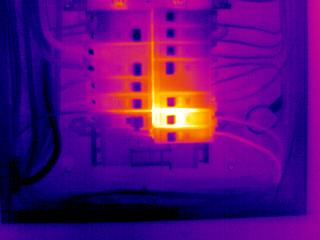Infrared Electrical Panel