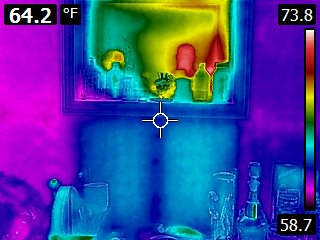 Infrared Missing Insulation